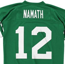 new concept 76f3b aee05 Mitchell & Ness Men's 1968 Home Game Jersey New York Jets Joe Namath #12