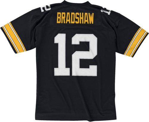 7936a193583 Mitchell   Ness Men s 1976 Home Game Jersey Pittsburgh Steelers Terry  Bradshaw  12. noImageFound. Previous. 1. 2. 3