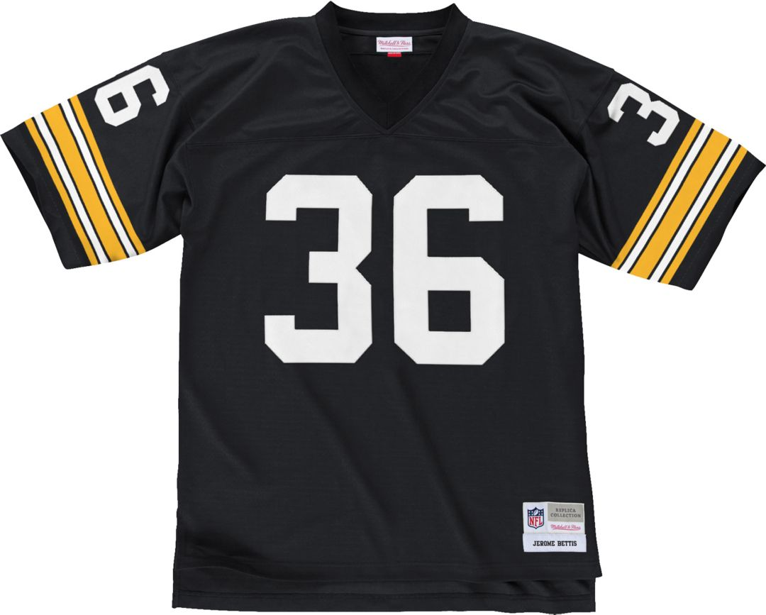 cheap for discount adb79 30189 Mitchell & Ness Men's 1996 Home Game Jersey Pittsburgh Steelers Jerome  Bettis #36