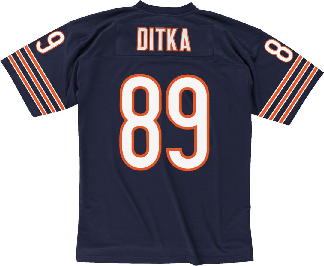 best sneakers 7ee13 1d201 Mitchell & Ness Men's 1966 Home Game Jersey Chicago Bears Mike Ditka #89