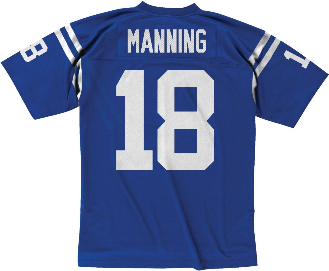 low priced 58ba2 8ba70 Mitchell & Ness Men's 1998 Home Game Jersey Indianapolis Colts Peyton  Manning #18