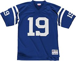 online store 02c90 a202a Mitchell & Ness Men's 1967 Home Game Jersey Indianapolis Colts Johnny  Unitas #19