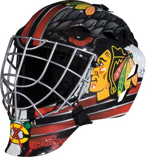 save off ac299 9a621 Franklin Junior NHL Team Street Hockey Goalie Mask   DICK S Sporting ...