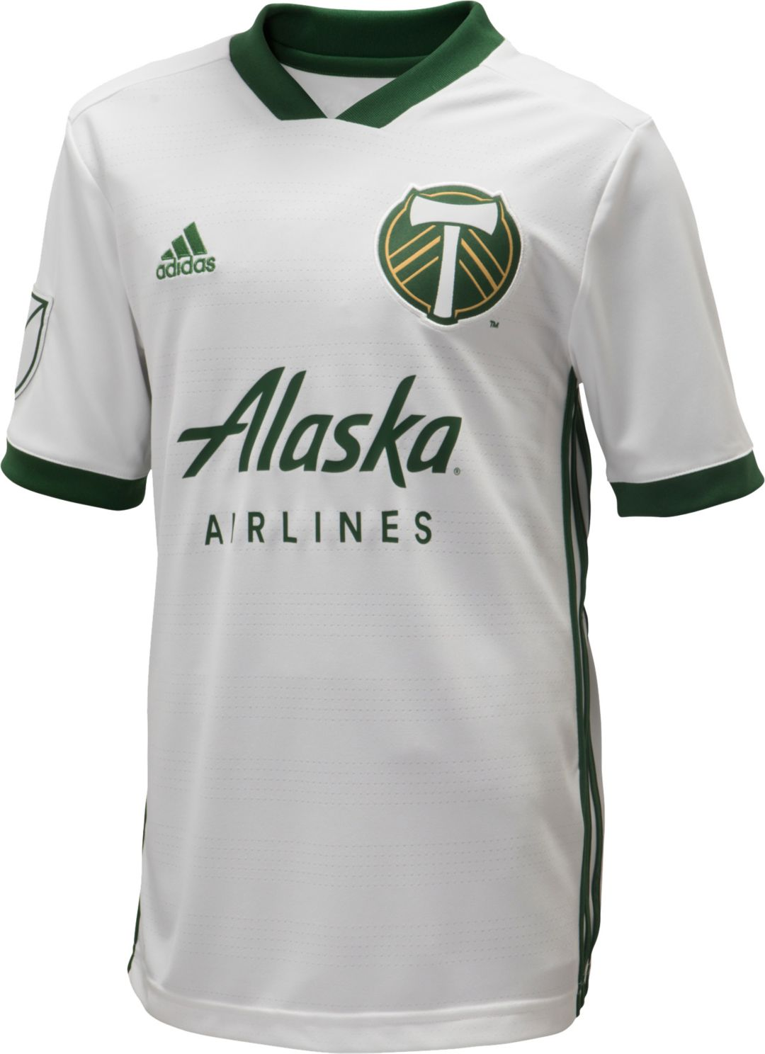 fff5aa983 adidas Youth Portland Timbers Secondary Replica Jersey. noImageFound.  Previous. 1. 2