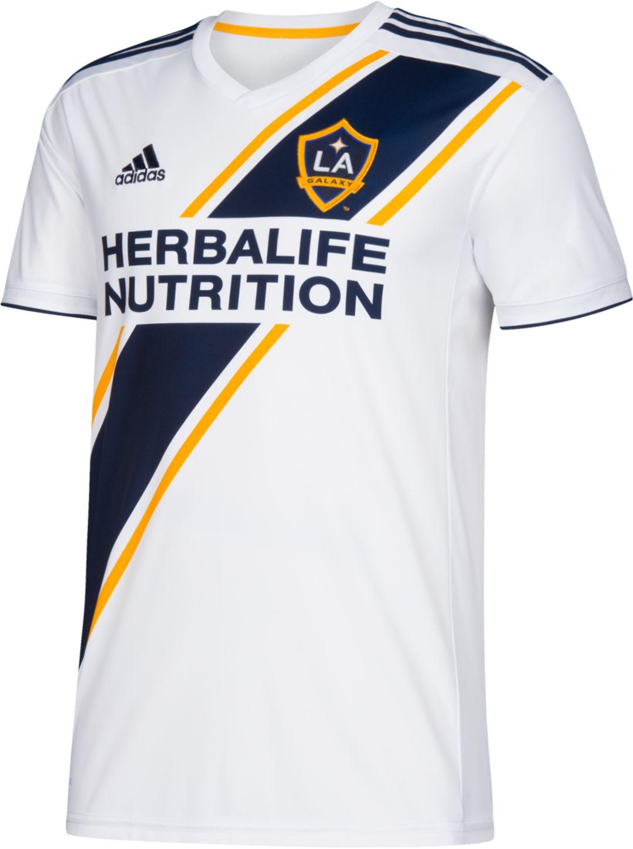 newest b3bd8 133aa adidas Youth Los Angeles Galaxy Zlatan Ibrahimovic #9 Primary Replica Jersey