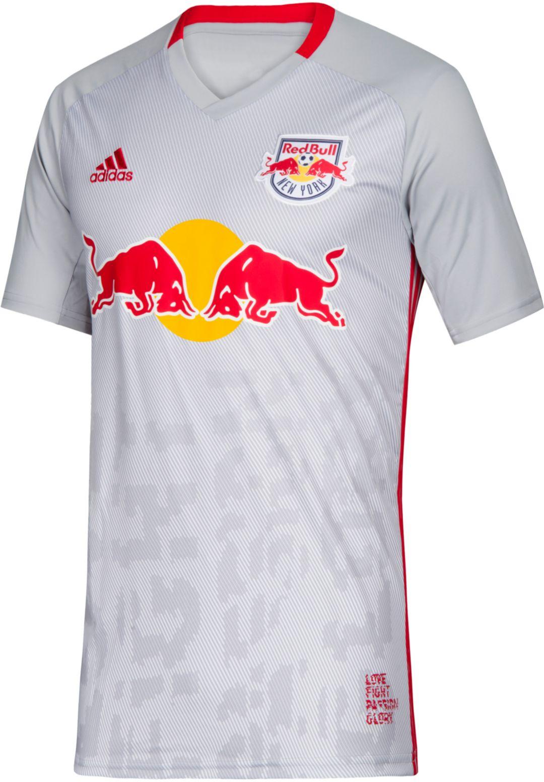 100% authentic e5fad 01dab adidas Men's New York Red Bulls Primary Replica Jersey
