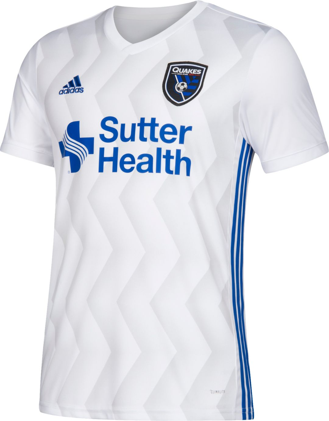 separation shoes 00195 3fa61 adidas Men's San Jose Earthquakes Secondary Replica Jersey