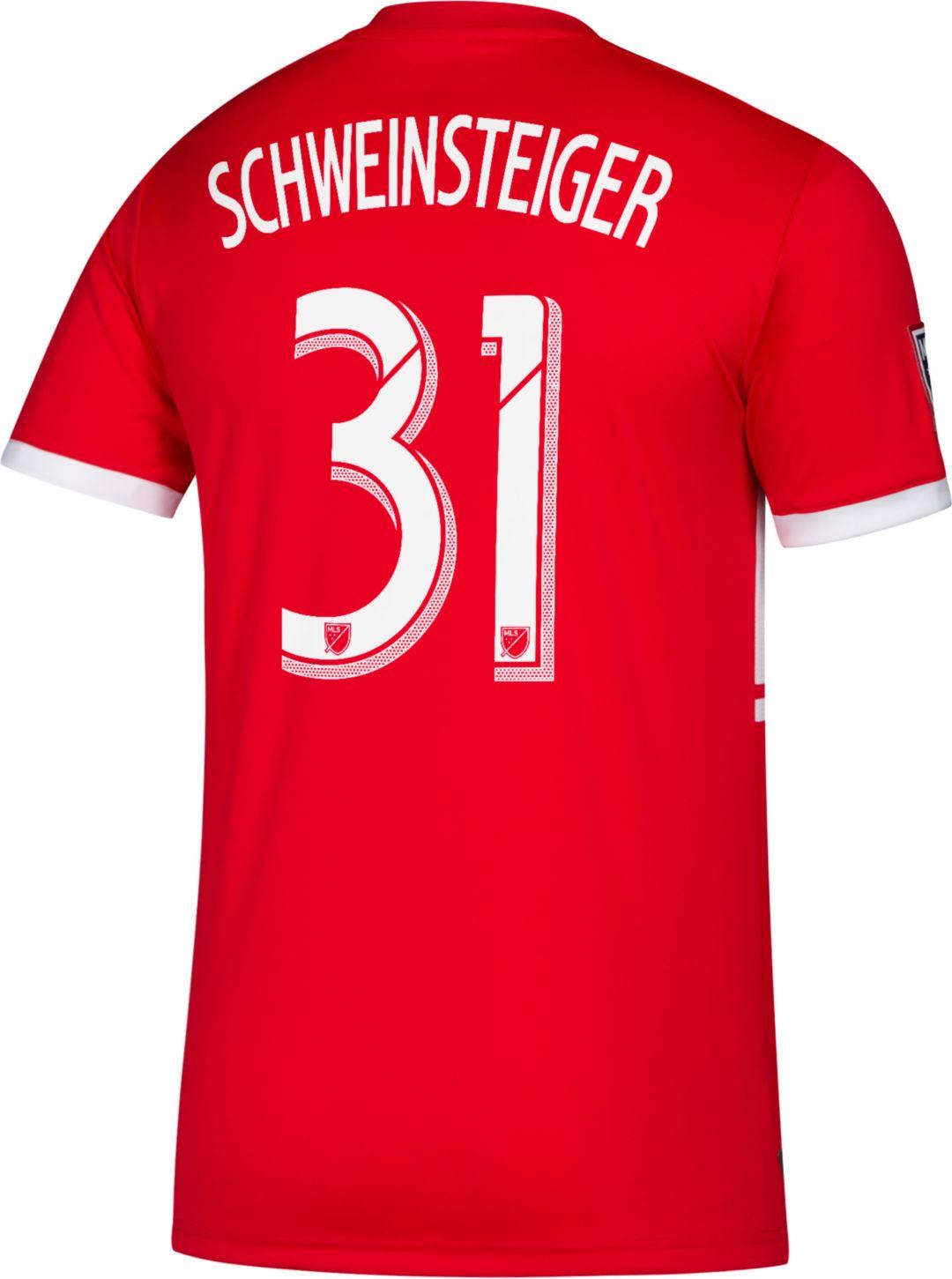 best deals on 9b72e 95bb6 adidas Men's Chicago Fire Bastian Schweinsteiger #19 Primary Replica Jersey