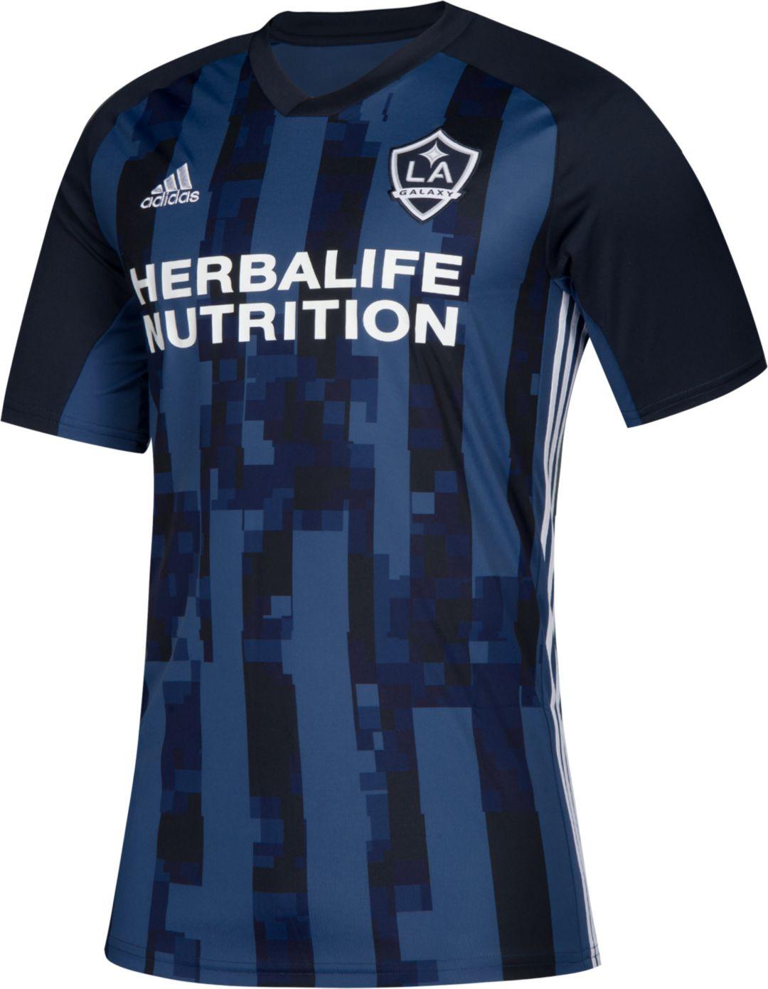 on sale f8c12 06969 adidas Men's Los Angeles Galaxy Zlatan Ibrahimovic #9 Secondary Replica  Jersey