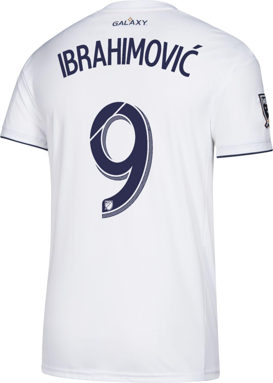 d72138ca84f adidas Men s Los Angeles Galaxy Zlatan Ibrahimovic  9 Primary Replica Jersey  3