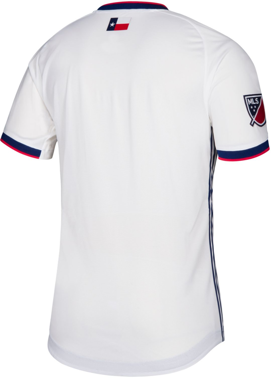 the latest 023c4 181cc adidas Men's FC Dallas Secondary Authentic Jersey