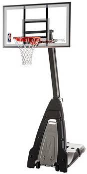 "Spalding Beast 60"" Glass Portable Basketball Hoop product image"
