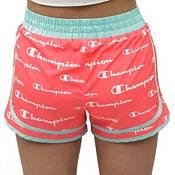 Champion Girls' Varsity Script Printed Shorts product image