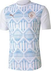 PUMA Men's Manchester City White Prematch Jersey product image