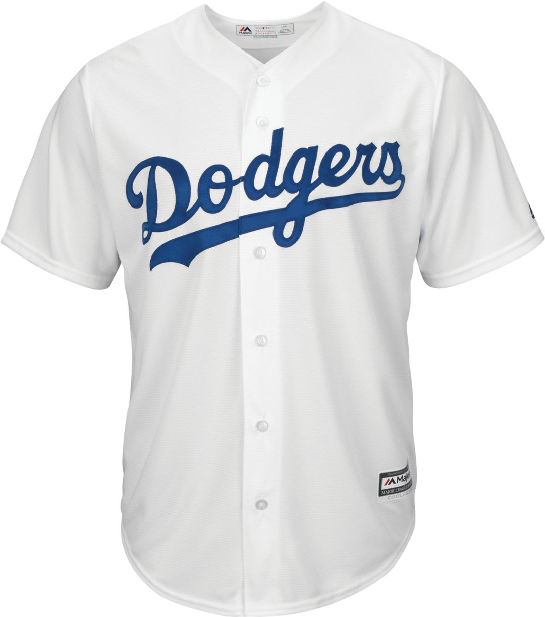 low priced c5dcf 93edf Majestic Men's Replica Los Angeles Dodgers Mike Piazza #31 Cool Base Home  White Jersey