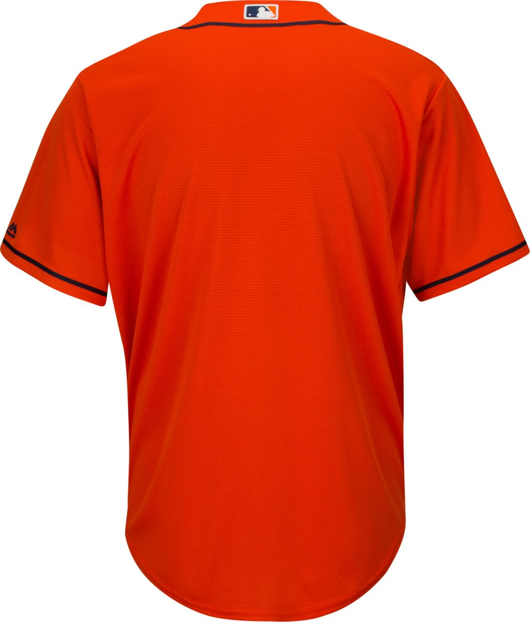 74a80cae1 Majestic Men's Replica Houston Astros Cool Base Alternate Orange Jersey.  noImageFound. Previous. 1. 2. 3