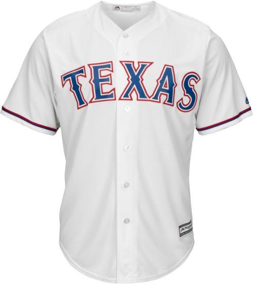 Majestic Men s Replica Texas Rangers Nolan Ryan  34 Cool Base Home White  Jersey c4df94816
