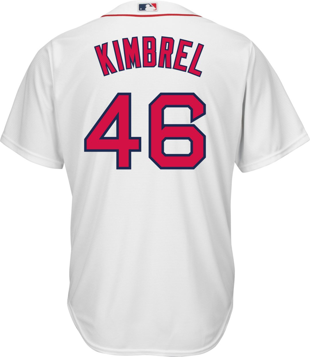 promo code a4378 af378 Majestic Men's Replica Boston Red Sox Craig Kimbrel #46 Cool Base Home  White Jersey