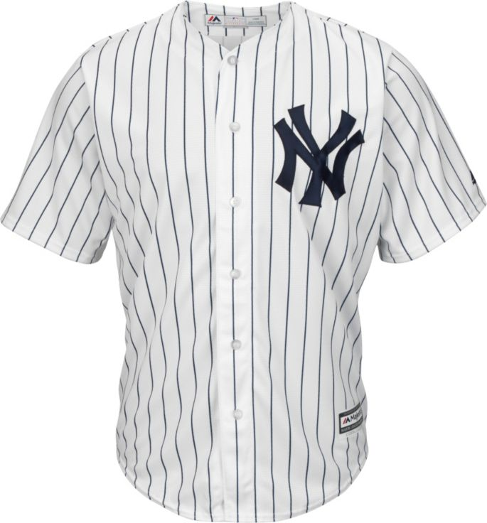 huge selection of 7ab52 72881 Majestic Men's Replica New York Yankees Didi Gregorius #18 Cool Base Home  White Jersey
