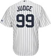 Majestic Men's Replica New York Yankees Aaron Judge #99 Cool Base Home White Jersey product image