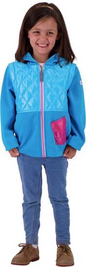 Obermeyer Girls' Hayden Hybrid Full Zip Fleece Jacket product image