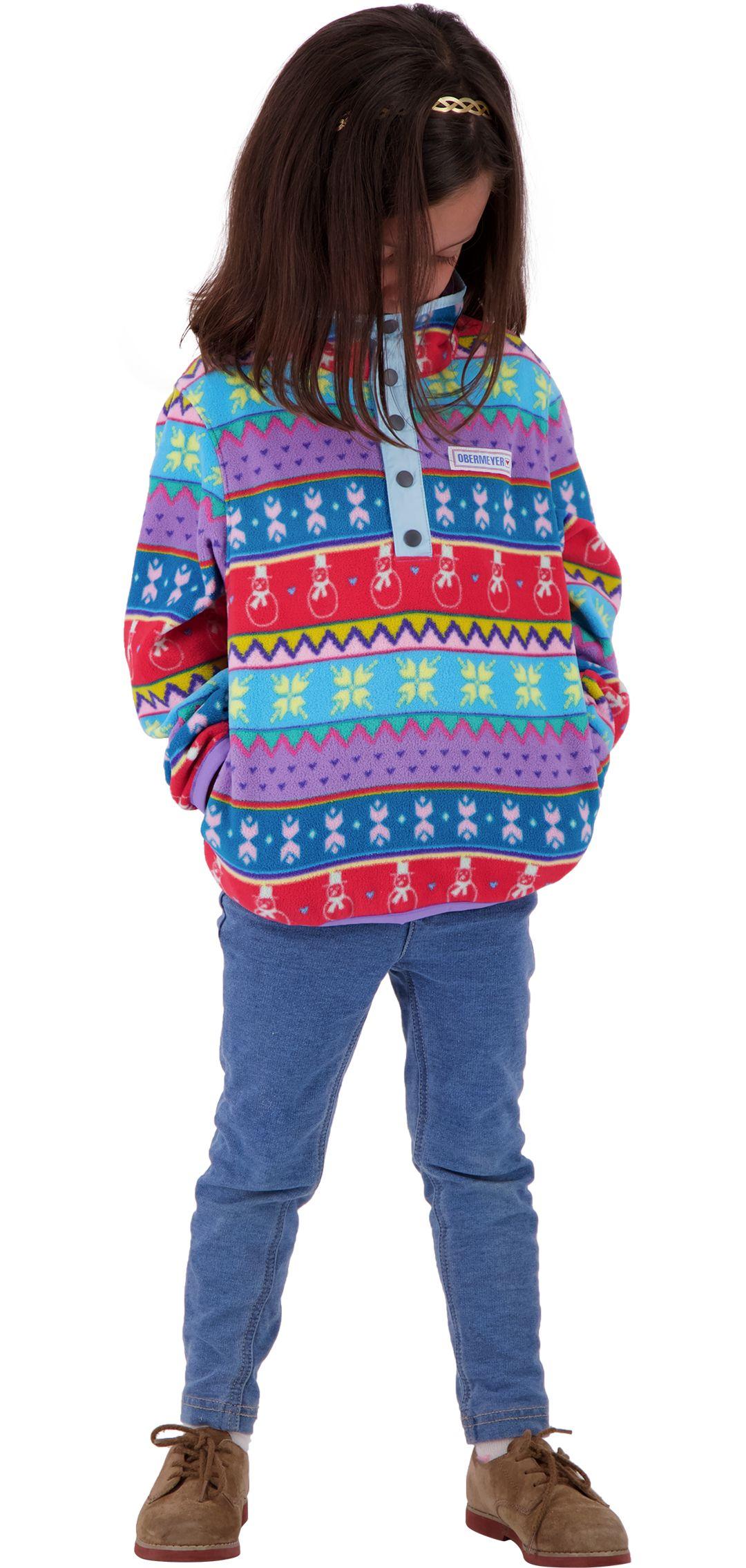 8c72d0cae5 Obermeyer Girls' Boulder Fleece Pullover