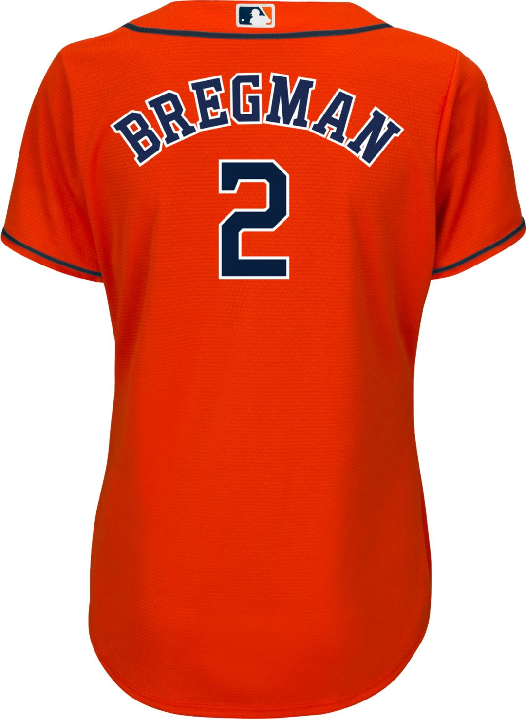 low priced a912a f6d2a Majestic Women's Replica Houston Astros Alex Bregman #2 Cool Base Alternate  Orange Jersey