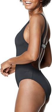 Speedo Women's Rib Logo One Piece Swimsuit product image