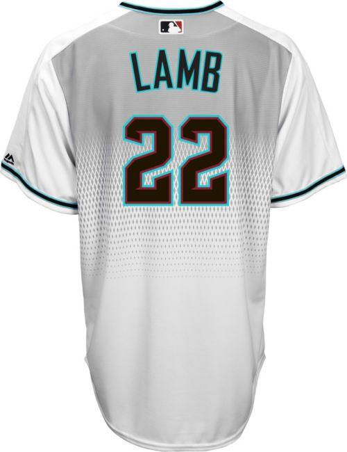 a465efa296a Majestic Men's Replica Arizona Diamondbacks Jake Lamb #22 Cool Base Home  White Jersey. noImageFound. Previous. 1. 2. 3