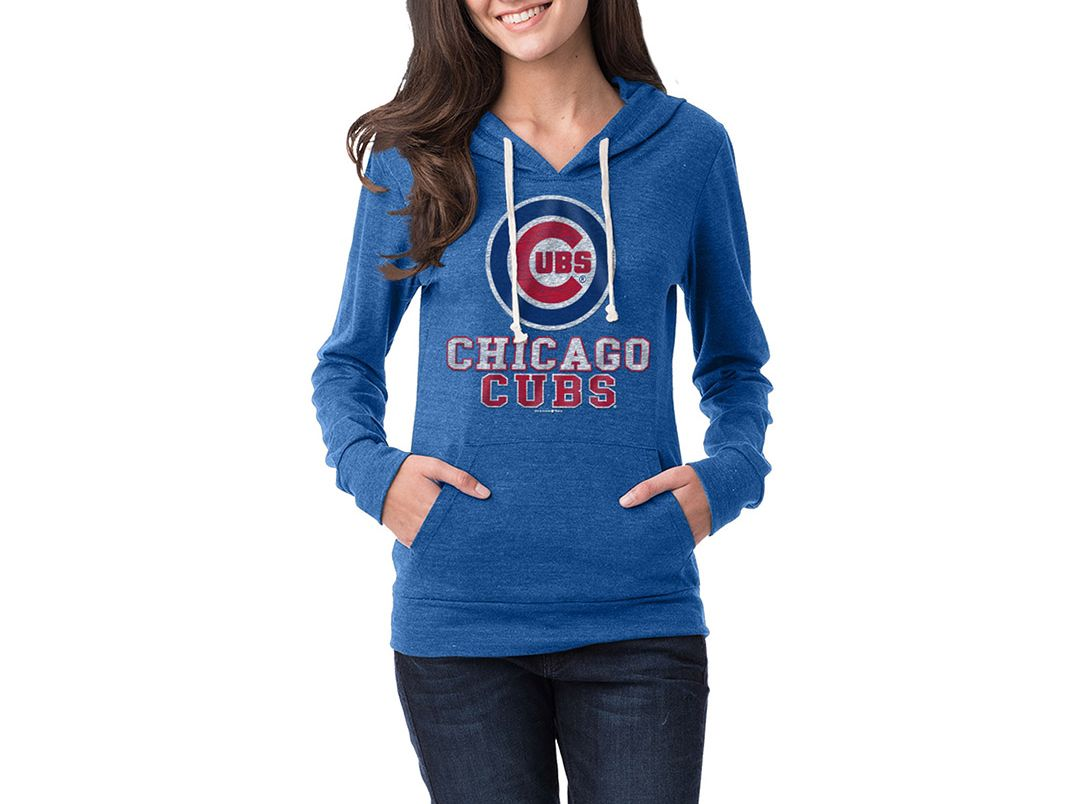 sale retailer 2065c da8f8 New Era Women's Chicago Cubs Pullover Hoodie