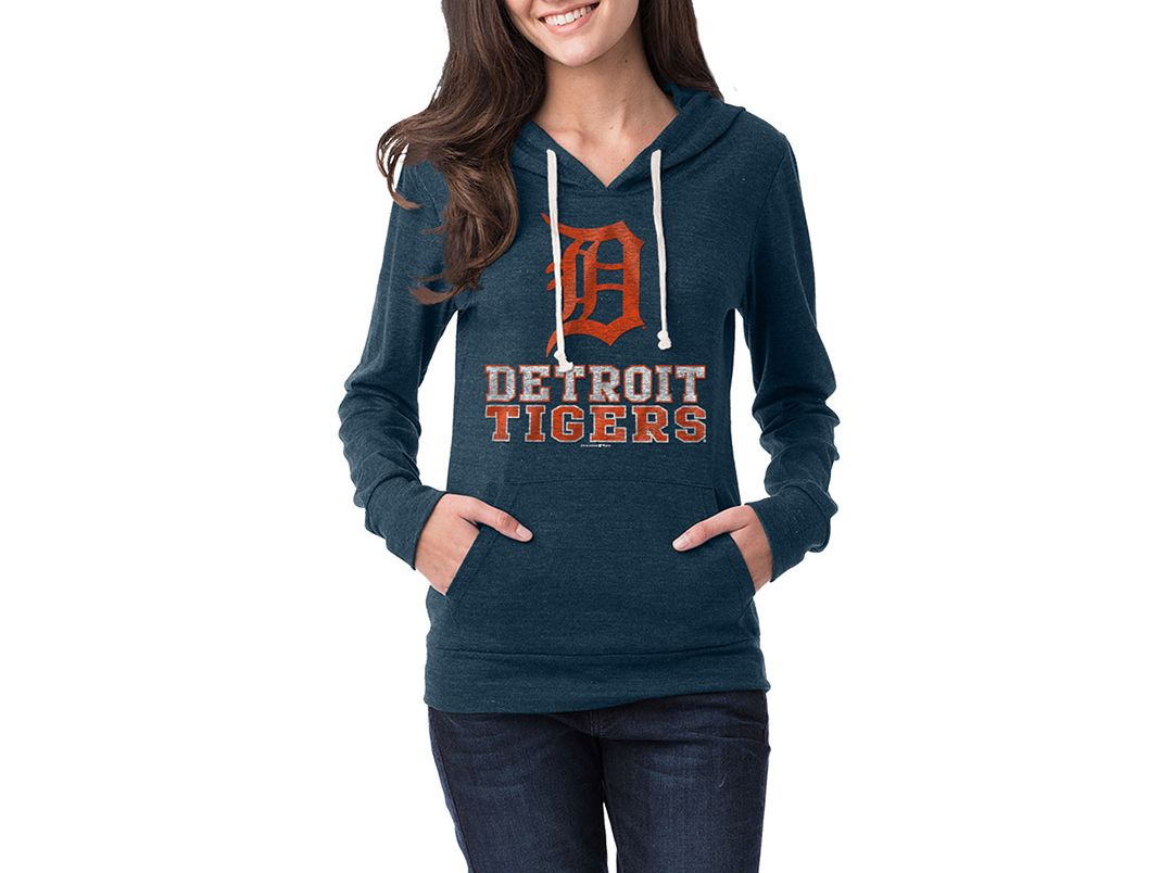 official photos 67747 9233f New Era Women's Detroit Tigers Pullover Hoodie