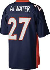 Mitchell & Ness Men's Denver Broncos Steve Atwater #27 Navy 1998 Home Jersey product image