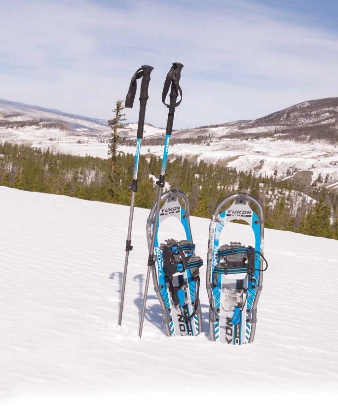 Yukon Charlie's Men's Pro II Series Snowshoes