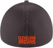 New Era Men's Cleveland Browns Grayed Out Neo 39Thirty Stretch Fit Hat product image