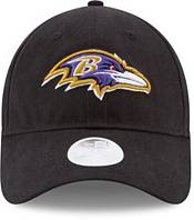 New Era Women's Baltimore Ravens Black Glisten 9Twenty Adjustable Hat product image
