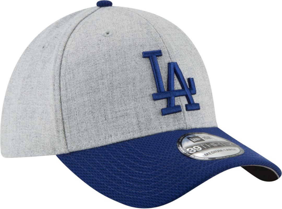 detailed pictures 79d8a 0880d New Era Men s Los Angeles Dodgers 39Thirty Change Up Redux Grey Stretch Fit  Hat. noImageFound. Previous. 1. 2. 3