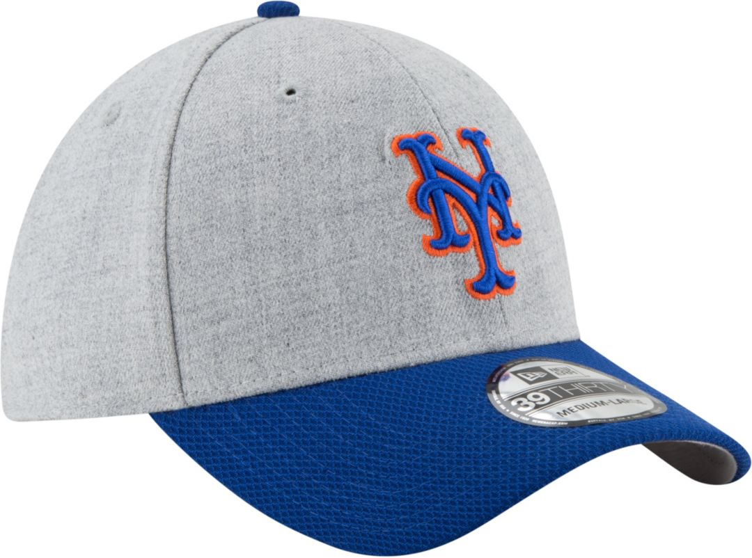 outlet store f04c4 f19cb New Era Men s New York Mets 39Thirty Change Up Redux Grey Stretch Fit Hat.  noImageFound. Previous. 1. 2. 3