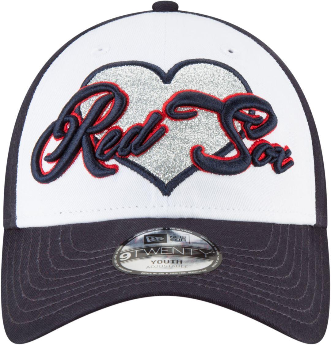 wholesale dealer bbd34 7f392 New Era Youth Boston Red Sox 9Twenty Sparkly Fan Adjustable Hat.  noImageFound. Previous. 1. 2