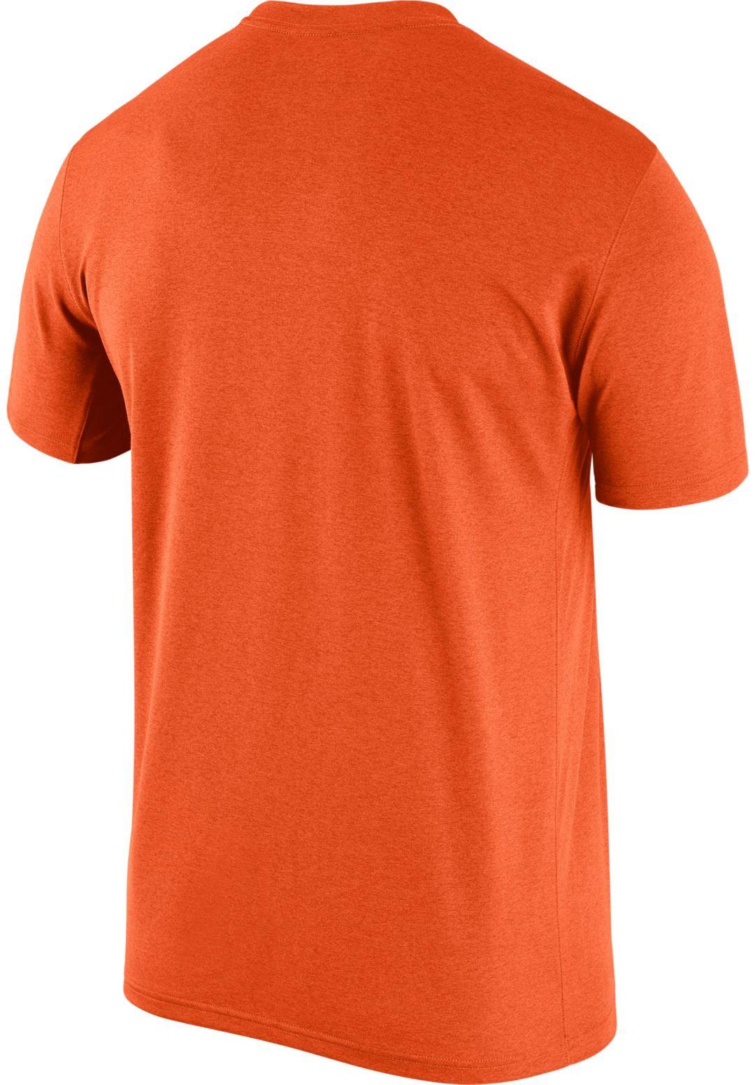 ace78ee2 Nike Men's Denver Broncos Legend Logo Performance Orange T-Shirt