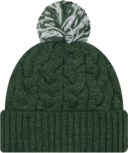a78c42d89ed New Era Women s Green Bay Packers Cozy Cable Green Pom Knit. noImageFound.  Previous. 1. 2