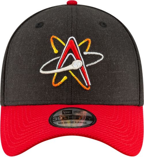 8d6c42228b99a New Era Men s Albuquerque Isotopes 39Thirty Stretch Fit Hat