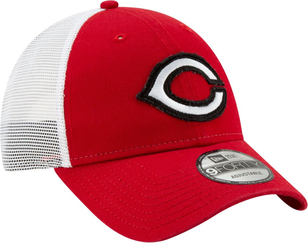 promo code ee8ba 406c4 New Era Men s Cincinnati Reds 9Forty Team Trucker Adjustable Hat.  noImageFound. Previous. 1. 2. 3