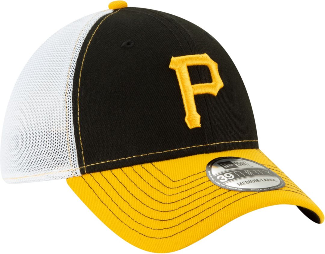100% authentic d3f91 bfdff New Era Men s Pittsburgh Pirates 39Thirty Practice Piece Stretch Fit Hat.  noImageFound. Previous. 1. 2. 3