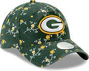 New Era Women's Green Bay Packers Green Blossom Adjustable Hat product image