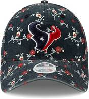New Era Women's Houston Texans Navy Blossom Adjustable Hat product image