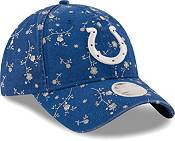 New Era Women's Indianapolis Colts Blue Blossom Adjustable Hat product image