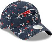 New Era Women's New England Patriots Navy Blossom Adjustable Hat product image
