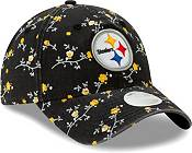 New Era Women's Pittsburgh Steelers Black Blossom Adjustable Hat product image