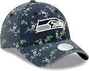 New Era Women's Seattle Seahawks Navy Blossom Adjustable Hat product image
