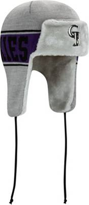 New Era Men's Colorado Rockies Trapper Knit Hat product image